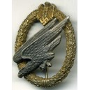 Wehrmacht Army Paratroopers Badge.