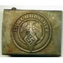 German WWII Hitlerjugend belt buckle.