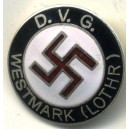 German WW II Pin Party D.V.G.Westmark (Lothr) Pin