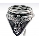 WW II German SS silver ring.