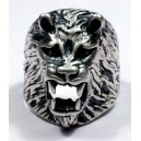 Sterling silver  Men's Biker Ring.