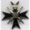 """Latgales""partisan regiment breast badge"