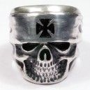 Sterling silver  Men's Biker Ring