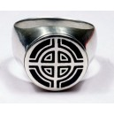 Celtic Cross ring.