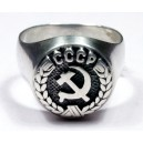 Soviet Red Army Officer`s ring