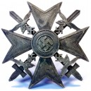 Condor Legion Spanish Cross Silver Grad with Sword