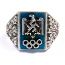 1936 BERLIN OLYMPICS STERLING SILVER RING